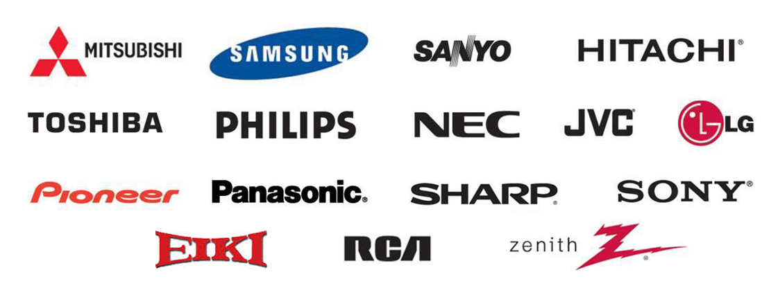 Authorized TV Repair | Mitsubishi | Samsung | Sanyo | Hitachi | Toshiba | Philips | NEC | JVC | LG  |Pioneer | Panasonic | Sharp | Sony | Eiki | RCA | Zenith