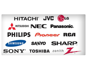 Authorized TV Repair & Projector Repair - HITACHI, JVC, LG, MITSUBISHI, NEC, PANASONIC, PHILIPS, SONY, SAMSUNG, SHARP, TOSHIBA, AND ZENITH